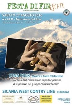 Festa di fine estate Etna folk-2