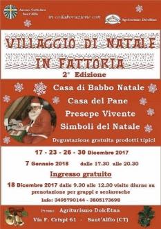 Villaggio di Natale in Fattoria  2017-1